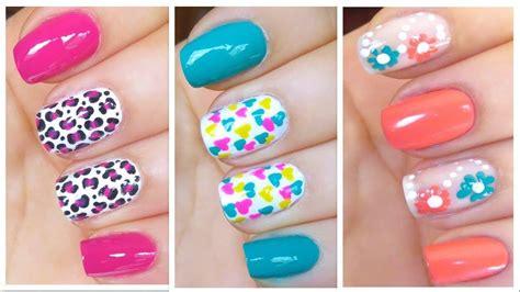 imagenes de uñas decoradas para verano moda 2018 187 u 241 as de primavera verano 2
