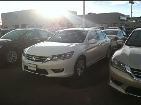 Stop L Honda Accord 2014 Up 2014 honda accord ex l v6 with navigation start up in