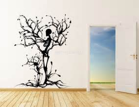 Vinyl Wall Art Stickers vinyl wall art stickers decals skull tree halloween wall stickers