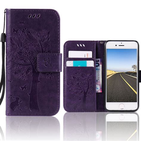Iphone 6 6s Plus New Flip Wallet Leather Dompet Card Cover for apple iphone 6 6s plus genuine leather flip cover