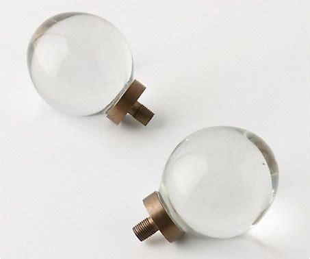 7 Pretty Finials by Anthropologie Oeuf Glass Finials 7 Pretty Finials