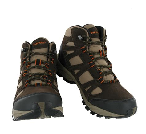 lightweight mens walking boots mens hi tec alto mid waterproof lightweight hiking walking