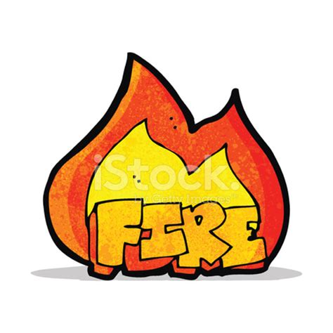 cartoon fire symbol stock vector freeimages.com