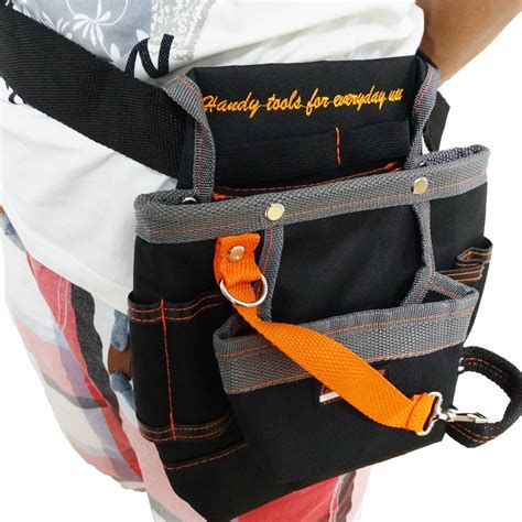 Pouch Tas Kosmetik Longch Promo 18 high quality 8 pockets oxford tool pouch electrician tools bag electrician tool belt waist
