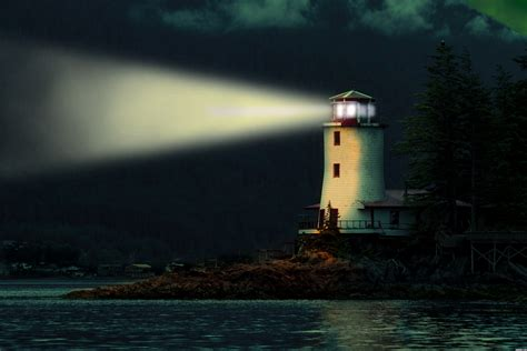 Image Gallery Lighthouse At Night