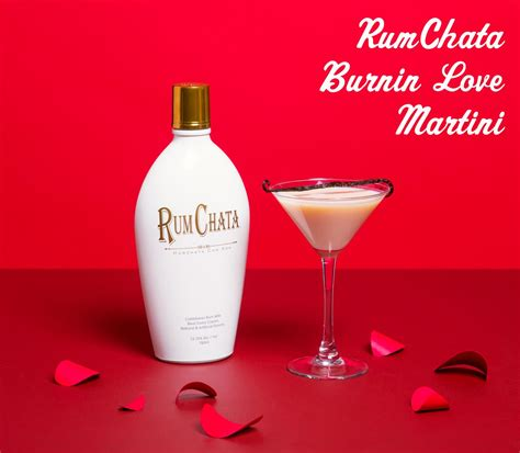martini rumchata must mix rumchata burnin martini for s day