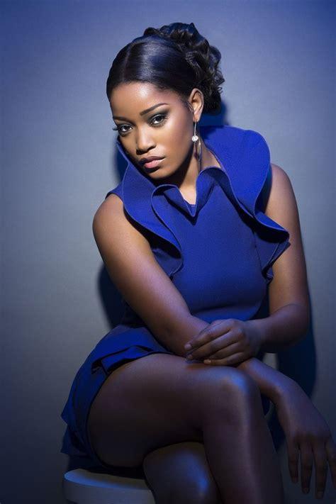name of black women in blue dress in viagra commercial keke palmer