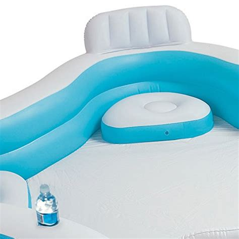 piscine avec siege intex piscine familiale avec si 232 ges 229x229x66 cm