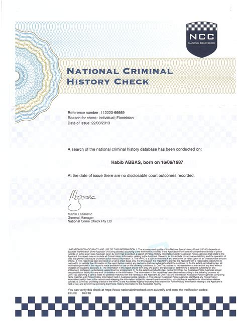 Company National Criminal History Record Check Records Search Criminal Background Checks