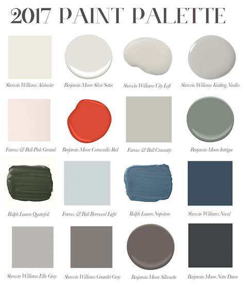 best grey paint colors 2017 my favorite paint colors for 2017 elements of style blog
