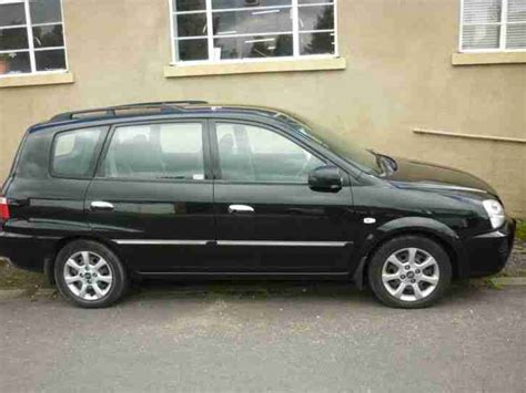 Kia Carens Black Kia Carens Crdi Lx Black 2006 55 Reg Car For Sale