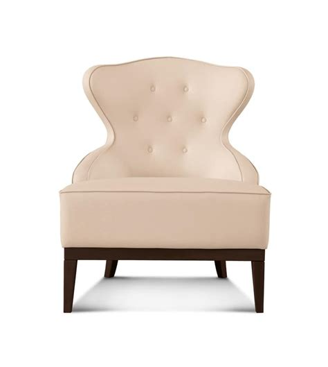 classic armchair armchair in classic style with leather upholstery idfdesign