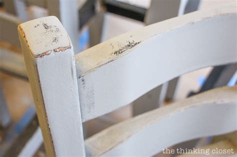 chalk paint how to distress the beginner s guide to distressing with sloan chalk