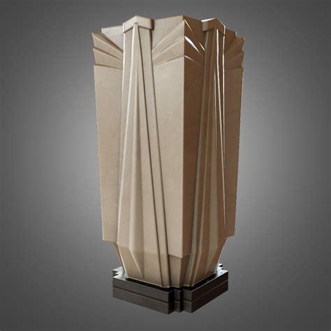 deco vase 3d model deco vase ready vr ar low poly obj