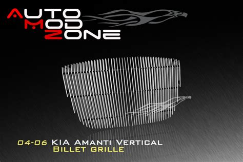 kia amanti grill auto mod zone billet grille chrome door handle covers