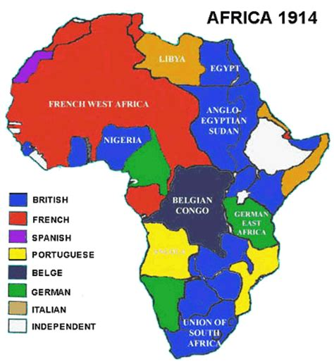 pattern of colonial rule in east africa colonization in africa