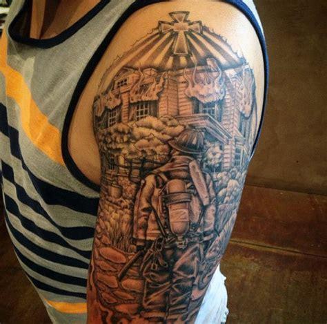 tribute tattoo 50 firefighter tattoos for masculine fireman ideas