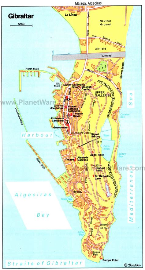 printable street map gibraltar top rated tourist attractions in gibraltar planetware