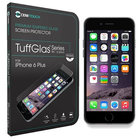 genuine tempered glass screen protector  apple