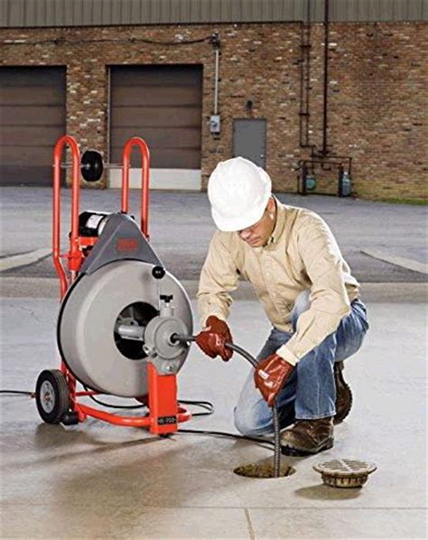 Ridgid Plumbing Snake by Snake Drnclnr 75ft 3 8 Cable Manual Feed Rentals Honolulu