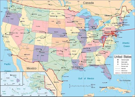 usa travel map travel map united states