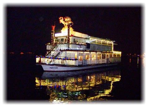 newport light parade cruises www angelalouise com riverboat angela louise charter for