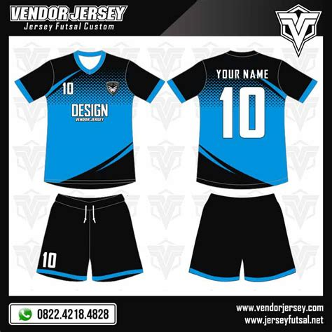 desain kaos hitam keren desain kaos futsal gratis jika pesan di vendor jersey