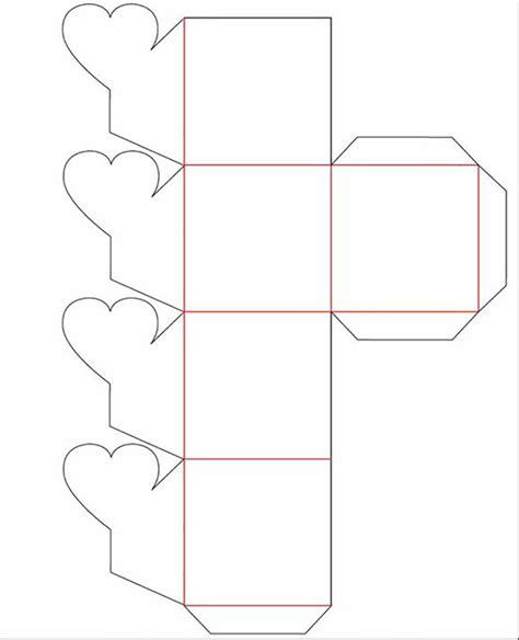 cajita en forma de corazn cajita con coraz 243 n para cajita en forma de flor