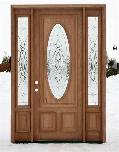 Exterior Door Sidelights Exterior Door With Sidelights