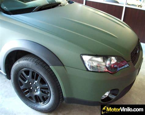 Folie Auto Verde Mat by Personalizaci 243 N De Veh 237 Culos Con Vinilo Vinila Tu Coche O