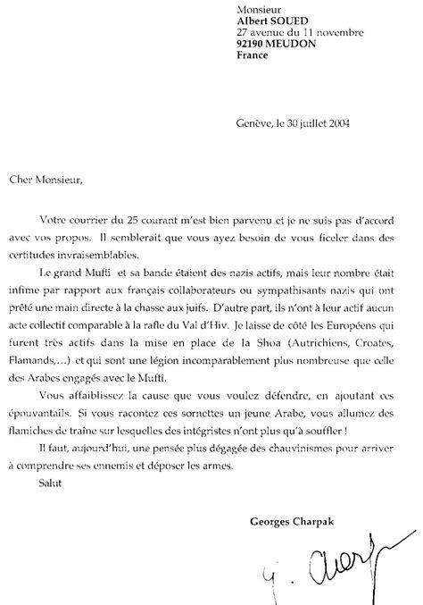 Exemple De Lettre Ouverte Litt Rature Exemple Lettre Ouverte