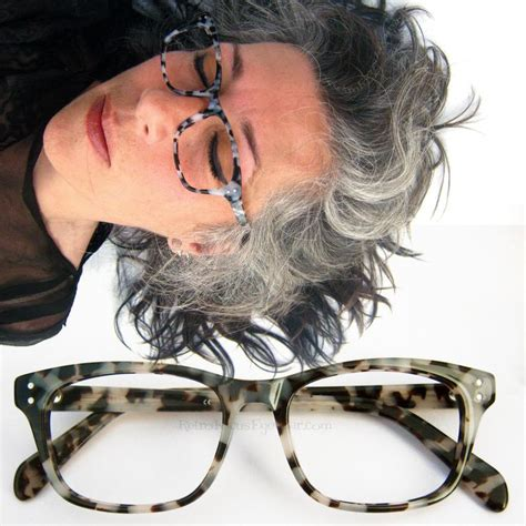 attractive eyeglasses for graying hair 62 best images about eyeglasses for older women on