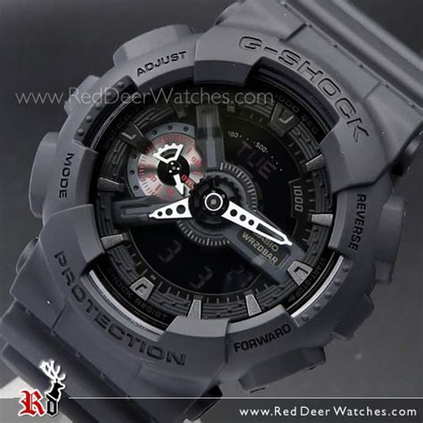 Casio G Shock Ga 110 1a Black buy casio g shock all black analog digital