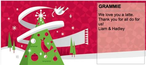 5 Below Gift Card - order four 4 5 starbucks e gift cards and get a free 5 e gift card