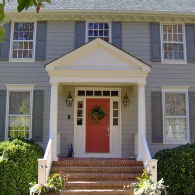 blue exterior house paint with orange stripe and black top 11 ideas about home paint on pinterest google images