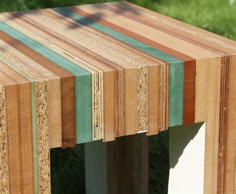 recycled wood tristan titeux colorful re cut furniture is made from