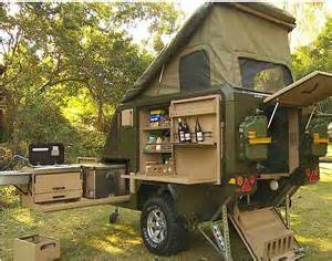 Teardrop Camper Floor Plans Conqueror Popup Trailer Has A Place For Everything And Is