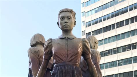 comfort women monument comfort women statue strains 60 year san francisco osaka