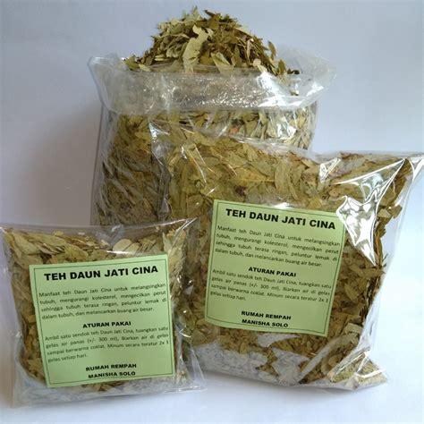 Minuman Herbal Pelangsing Teh Daun Jati Cina Melancarkan Bab teh pelangsing daun jati cina daun senna kemasan 1 kg rumah rempah manisha