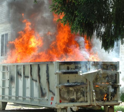 These Are Just Flames Burning In Your Fireplace by Chicago Firefighters Find Badly Burned In Dumpster