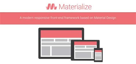 bottom responsive html bootstrap and materializecss web设计和开发人员的 material design 资源集合 open资讯