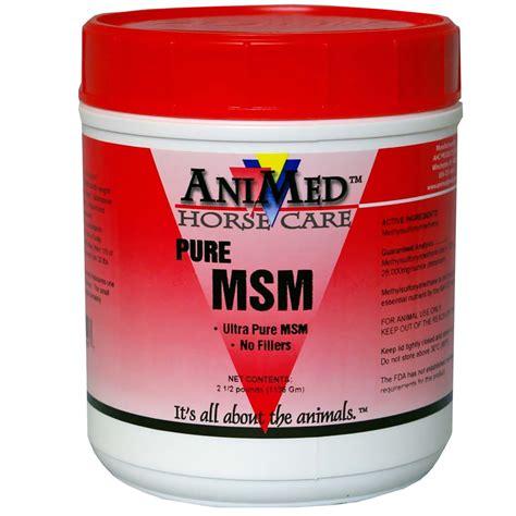 supplement msm animed msm dietary supplement 16 oz