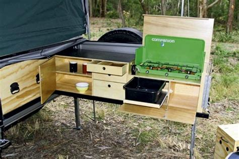 Camp Kitchen Designs Buying A Camper Trailer