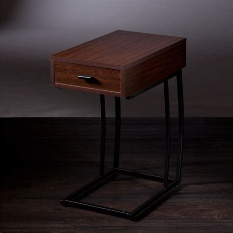 side table with power porten side table w power usb