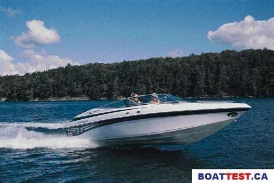 crownline boat test 2001 crownline 225 br tested reviewed on boattest ca