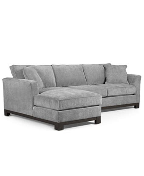 Macy Couches by Kenton Fabric 2 Chaise Sectional Apartment Sofa