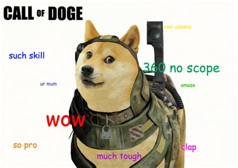 Much Doge Meme - call of duty know your meme