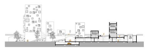 basement parking section archiprix nederland