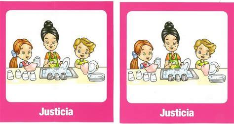 imagenes de justicia para niños de primaria mi escuela divertida juego de memoria quot valores quot
