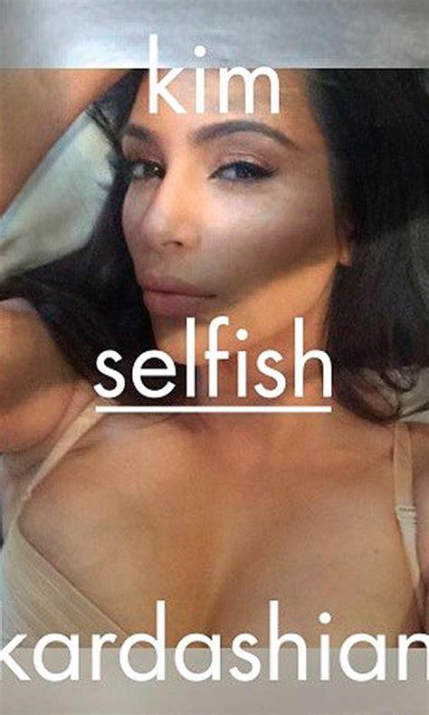 libro selfies kim kardashian prepara libro de 352 p 225 ginas de selfies